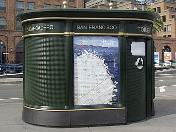 Toiletten in San Francisco