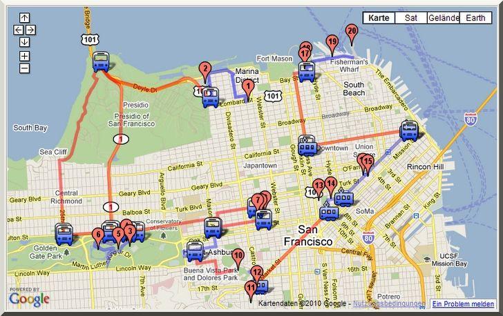 2 Tage In San Francisco Zu Fu 223 Tag 1