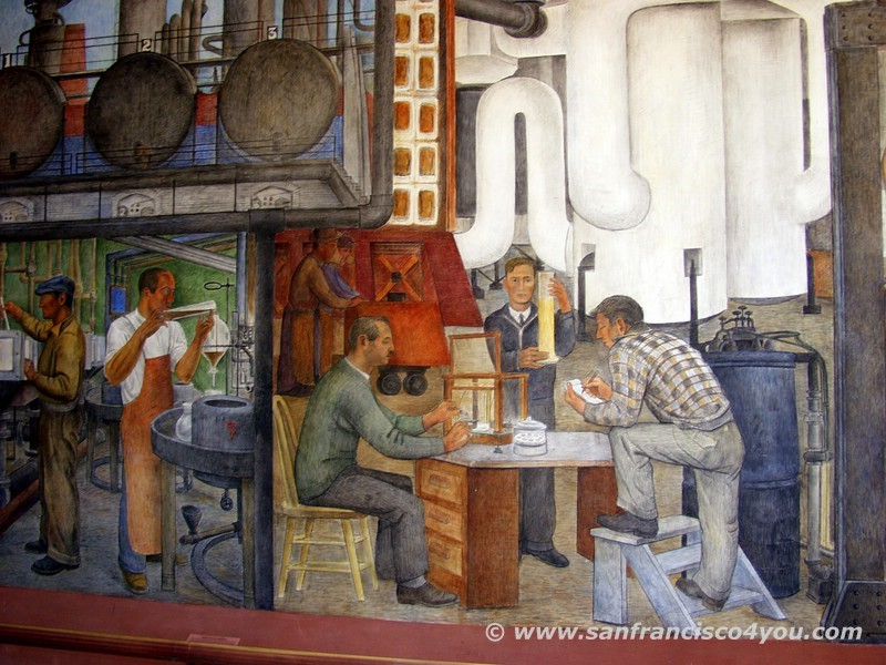 Mural im Coit Tower3
