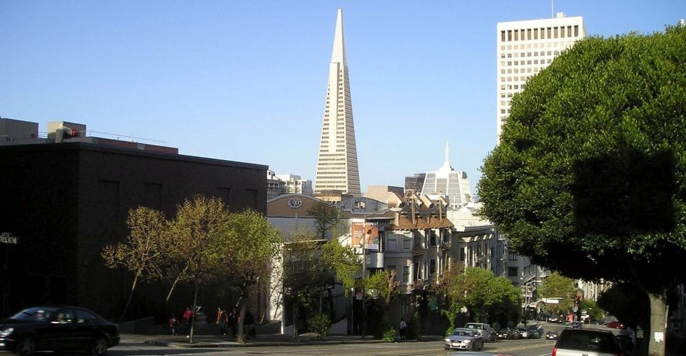 Transamerica Pyramide in San Francisco
