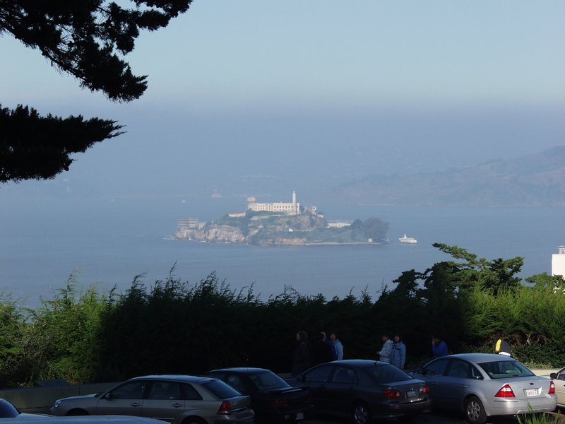 Alcatraz ab Coit Tower