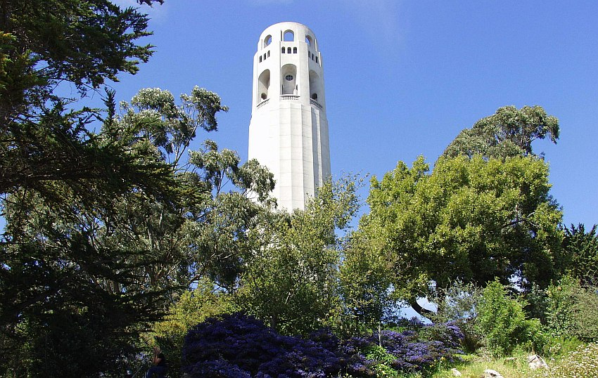 Coit Tower San Francisco, Kalifornien