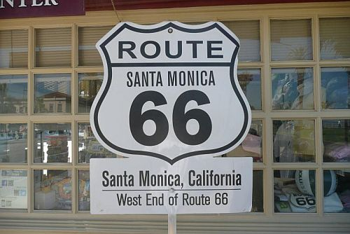 Ende Route 66