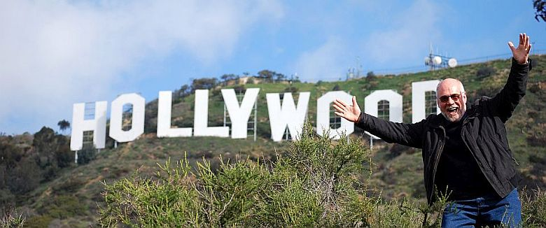 Willy am Hollywood-Sign