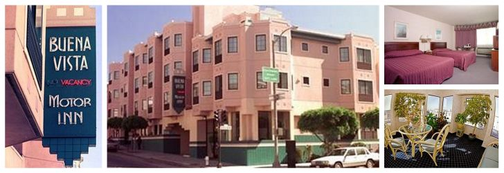 Willys hotel tipps f r san franciscos lombard street und for Buena vista motor inn san francisco ca